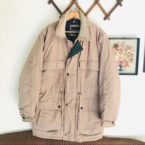 Vintage Fieldmaster Plaid Lined Barn Coat Parka